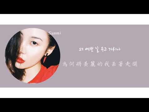 (歌詞中字)善美(선미)-Gashina(가시나)