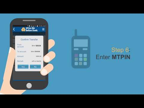 Indian Bank - How To Transfer Funds With IndPay App