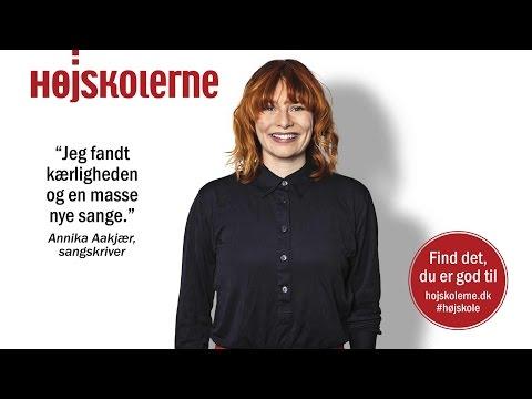 Annika Aakjær fortæller om sit højskoleophold