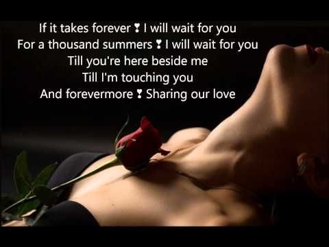 I Will Wait For YOU •*¨*•.¸¸❤❤