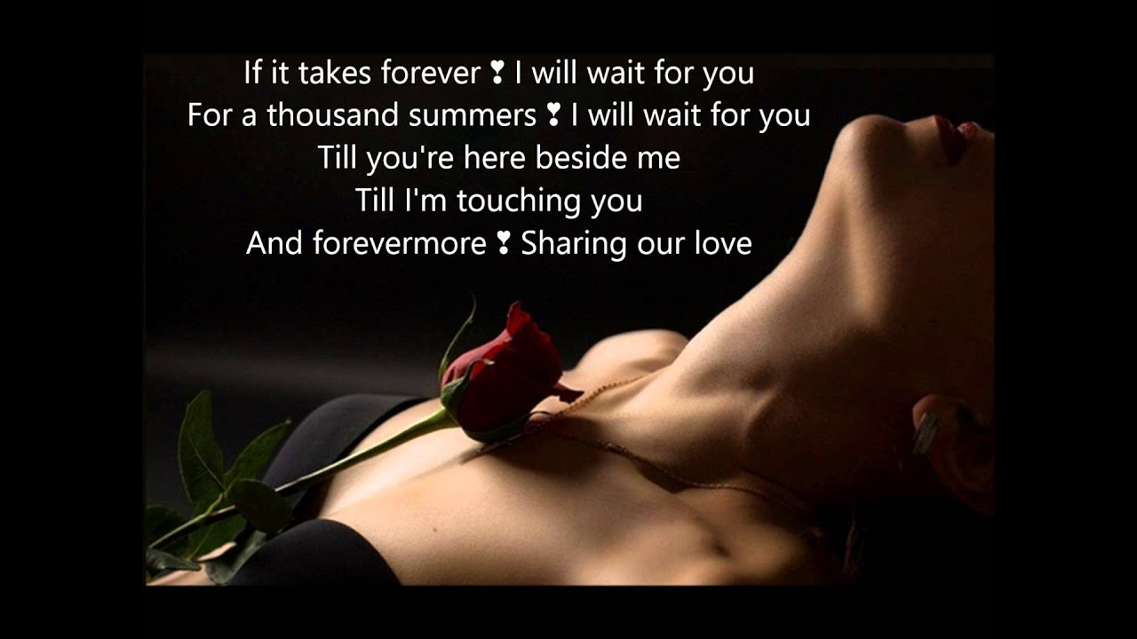 I Will Wait For YOU Oo