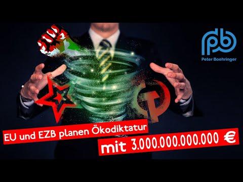 Frauenpower: EZB-Lagarde finanziert mandatswidrig EU-Ursulas grüne Machthybris – Boehringer KT (83)