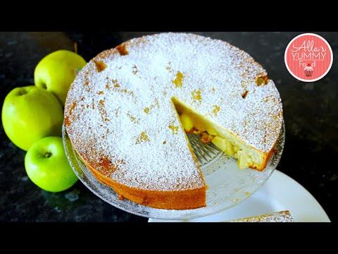 Sharlotka | Russian Apple Pie/Cake Recipe | Шарлотка с Яблоками|