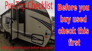 You MUST check this before you buy a used travel trailer