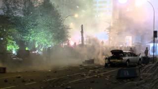 Metallica Chaos 3D film set Vancouver, B.C.