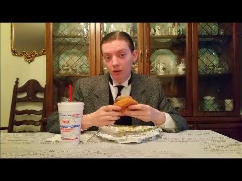 Sonic Garlic Parmesan Dunked Chicken Sandwich - Food Review