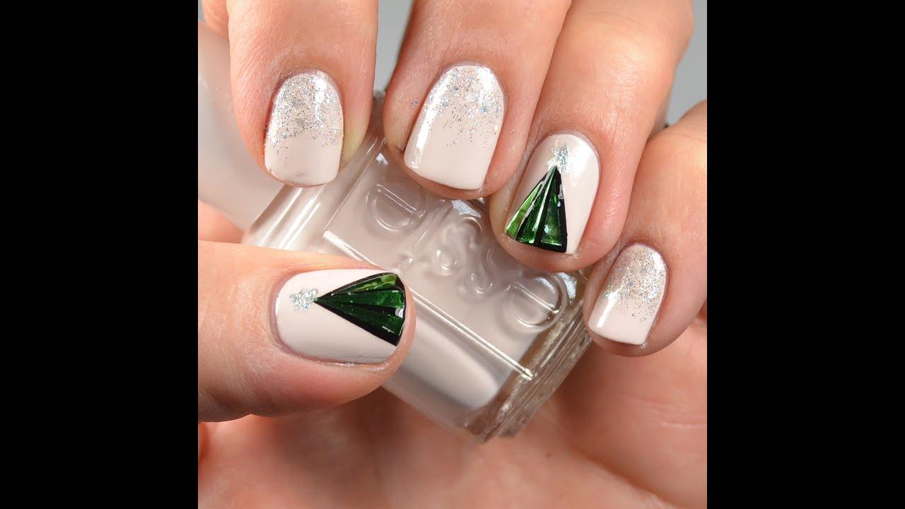 Christmas Nails Tutorial Youtube