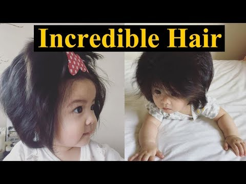 Baby born with Incredible Hair || Baby Chanco