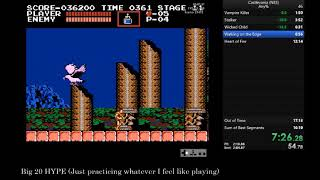 Castlevania (NES) - Any% in 15:28
