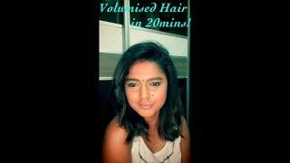 Big Voluminous Hair Tutorial