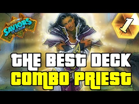 COMBO PRIEST IS THE BEST DECK IN THE GAME | GUIDE TO COMBO PRIEST | SAVIORS OF ULDUM | HEARTHSTONE