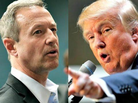 Alternate History: 2016- Donald Trump vs Martin O
