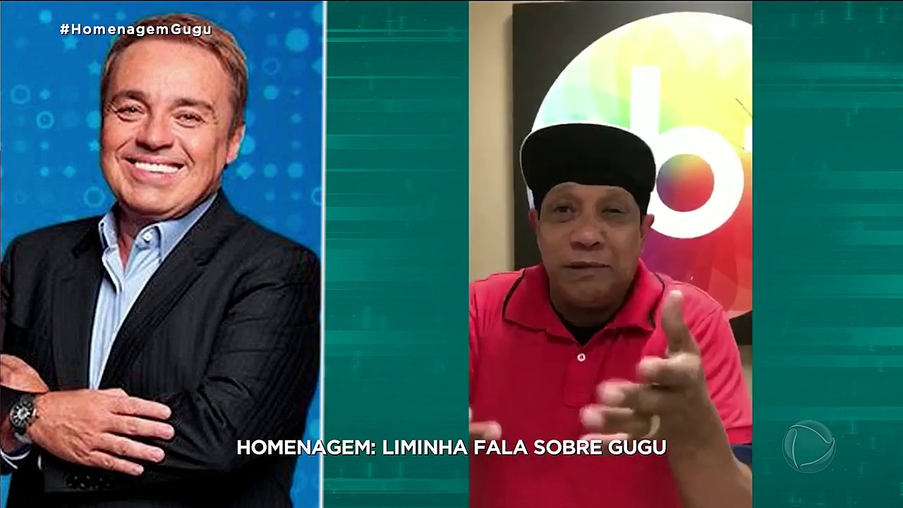 Liminha lamenta a morte de Gugu: