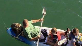 Sea Lion Hitches Ride on Family Kayak