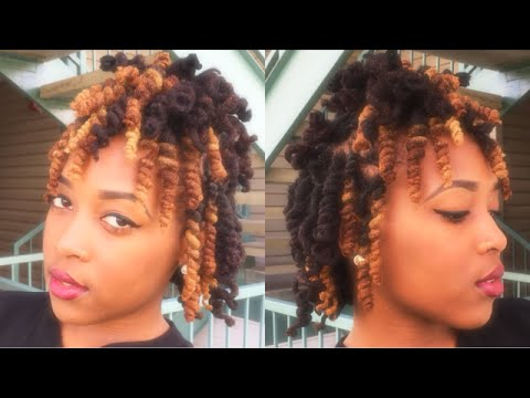 Loc Tutorials For Women Pipe Cleaner Curls On Locs Patty Phattty