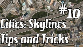 Cities Skylines  Tips and Tricks 10  Roundabout Interchanges Overview