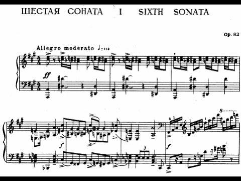 Prokofiev Piano Sonata No. 6 in A Major, Op. 82 (Lugansky)