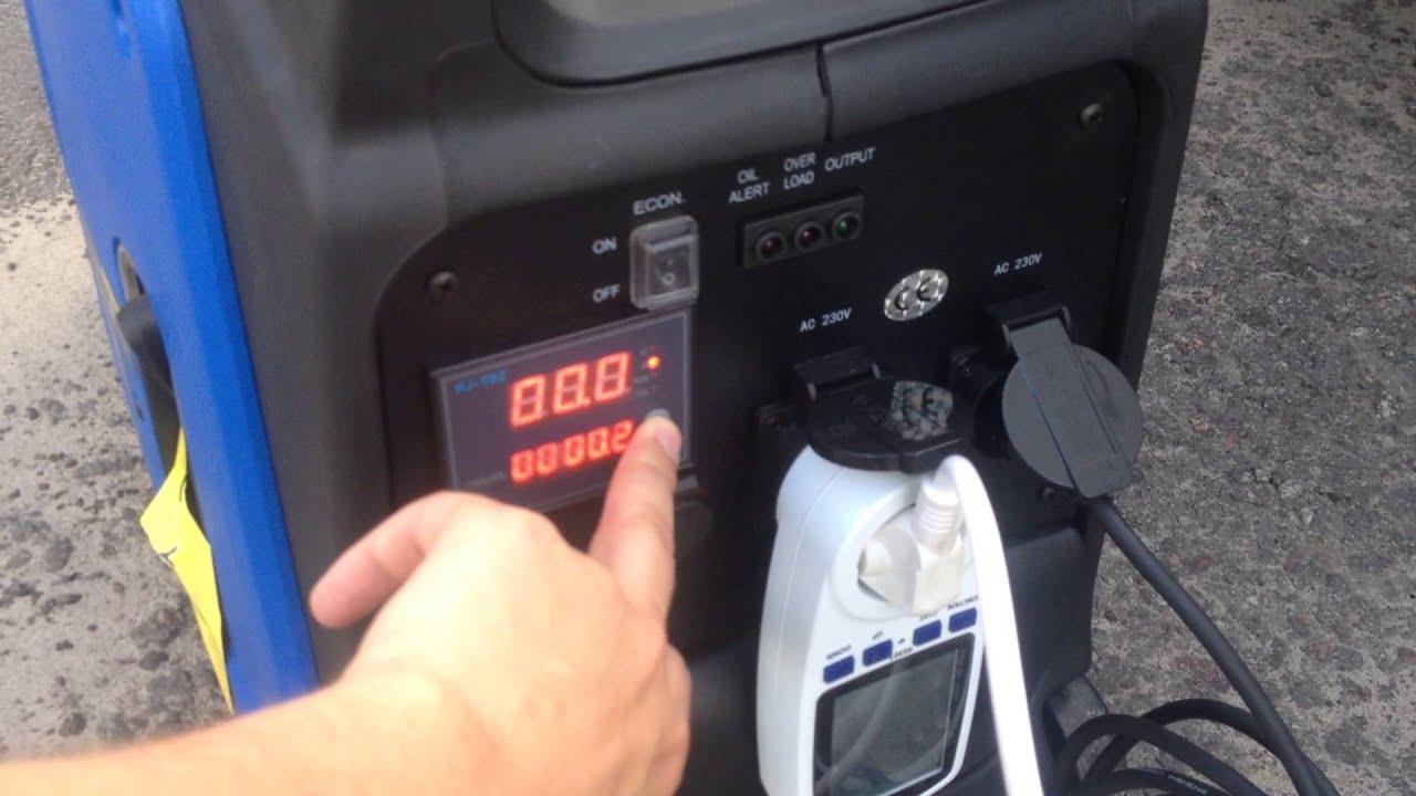 инструкция генератор honda shx 2000