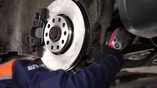 hinten rechts Stabistange beim VW PASSAT einbauen: Video-Anweisung