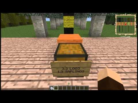 Minecraft Forestry Tree Breeding Guide 2 ep 4 Aspen