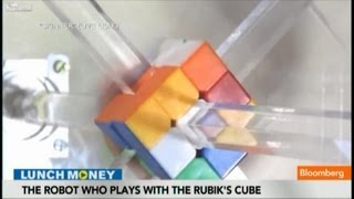 Don't Blink: Robot Solves Rubik's Cube in a Second