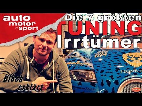 Die 7 größten Tuning-Irrtümer - Bloch erklärt #27 | auto motor und sport