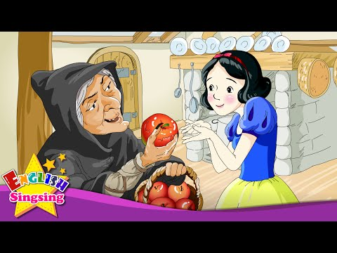 Snow White - Do you want some more? No, thanks. - English animated story for Kids