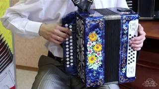 Первые два урока на гармони от Павла Уханова
