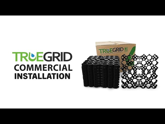 Commercial Installation: How to install TRUEGRID Permeable Pavers