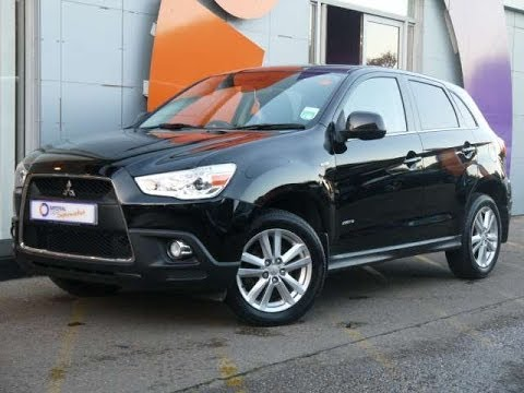 review our 2010 mitsubishi asx 3 cleartec 1 6 black 5d for sale in hampshire youtube. Black Bedroom Furniture Sets. Home Design Ideas