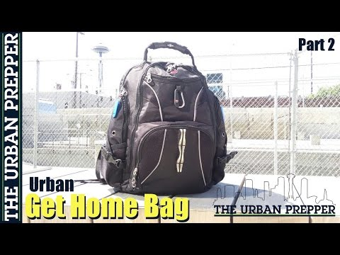 Urban Get Home Bag (Part 2) by TheUrbanPrepper