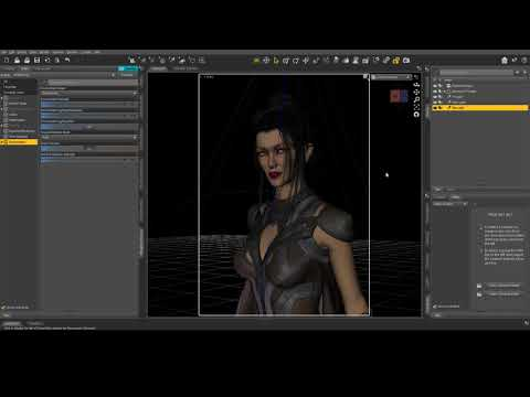 DAZ 3D Studio - Lighting a portrait