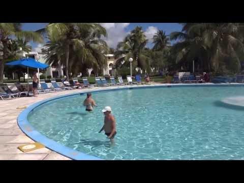 Joly Beach resort. Pool area. Antigua & Barbuda Island. November 13-27, 2013.