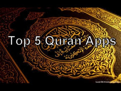 Top 5 Quran Apps for smartphones/tablets (Android) 2016