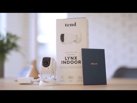 Tend Secure Lynx Indoor Setup Video
