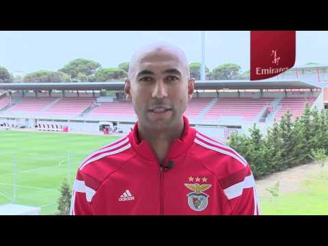 Benfica welcome message | Luisao | Emirates Airline
