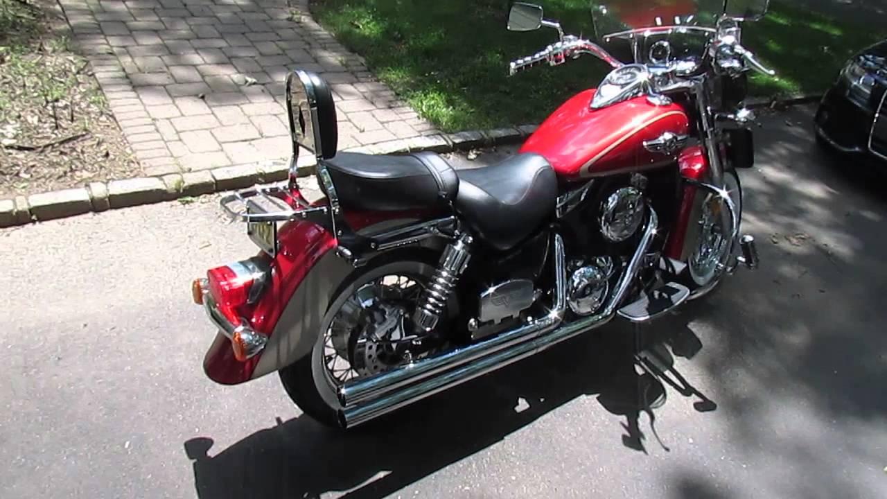 Kawasaki Vulcan Classic With Vance Amp Hines