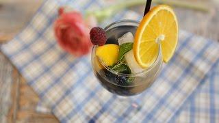 любимые Рецепты.  Крюшон.  Со свежими фруктами охлажденное вино становится в разы вкуснее!