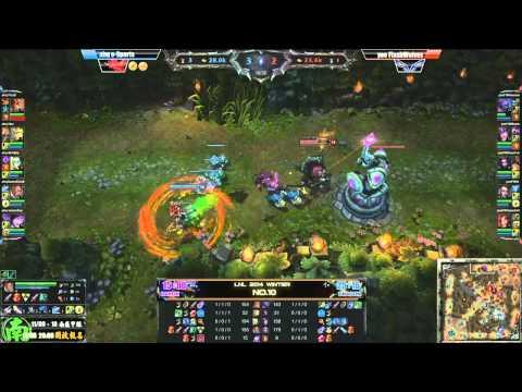 ahq e-Sports Club vs Flash Wolves (English Commentary)