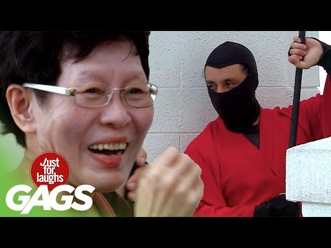 Ninjas Fight in Public PRANK - JFL Gags Asia Edition