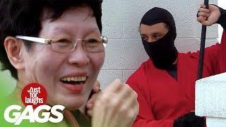 Ninjas Fight in Public PRANK - JFL Gags Asia Edition