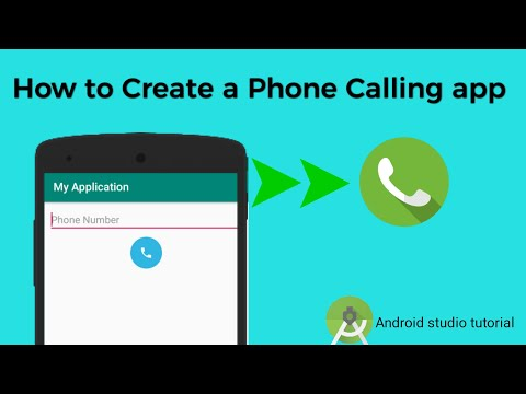 How to make calling app in android || Android studio tutorial