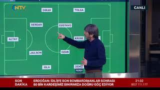 Rıdvan Dilmen: ''Fenerbahçe'de bir top hırsızı var'' (%100 Futbol Fenerbahçe-Beşiktaş)