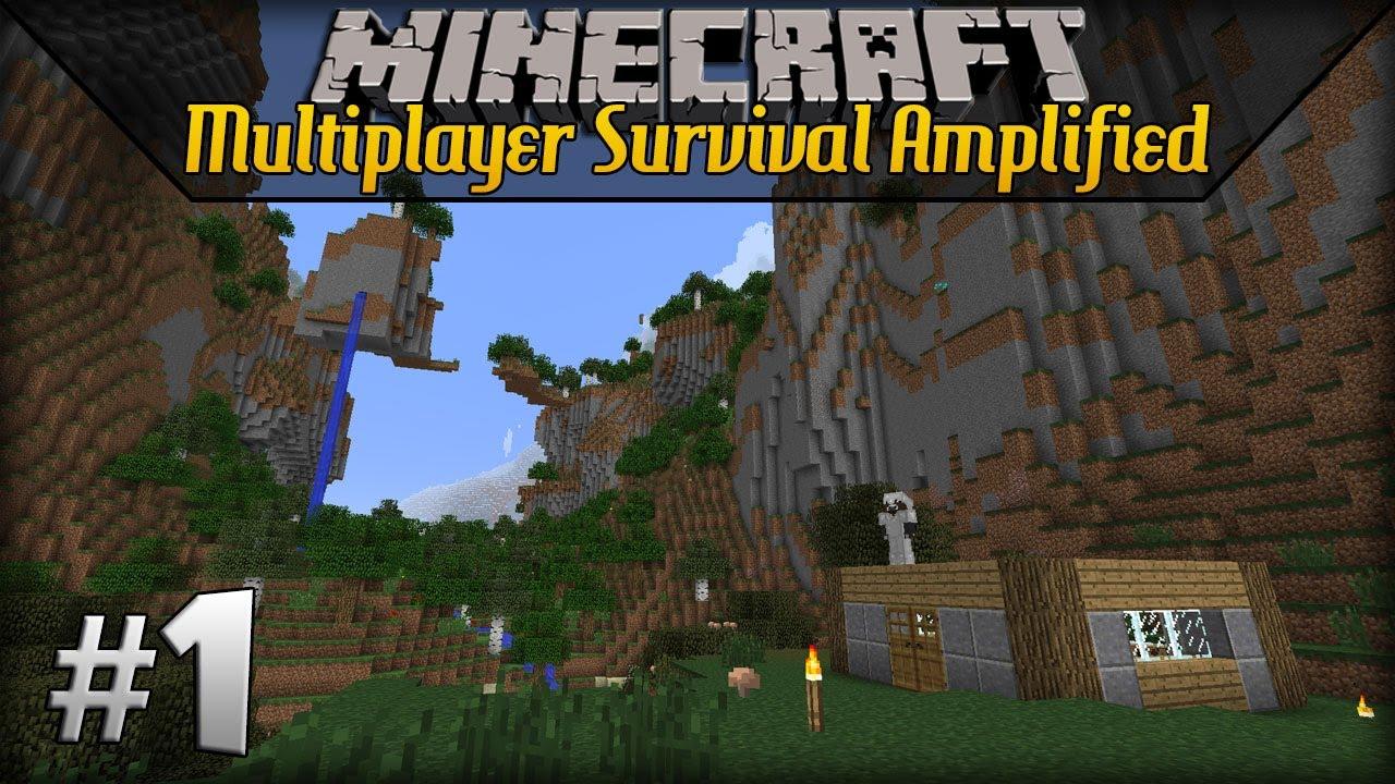 Amplified Minecraft Servers | TopG Servers List