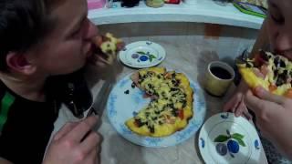 Пицца на сковороде // Простои рецепт // Жизнь в деревне