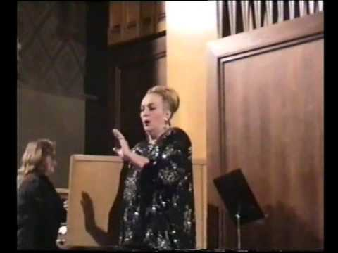 The Great Contralto Raisa Kotova and Vladimir Koval in concert with  accompanied by organ