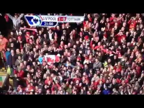 Luis Suarez goal v Tottenham