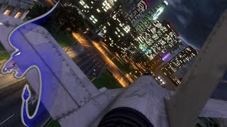 Eyes On Fire (Zeds Dead RMX) - Blue Foundation - GTA 5 - PS4 - Sync Reality