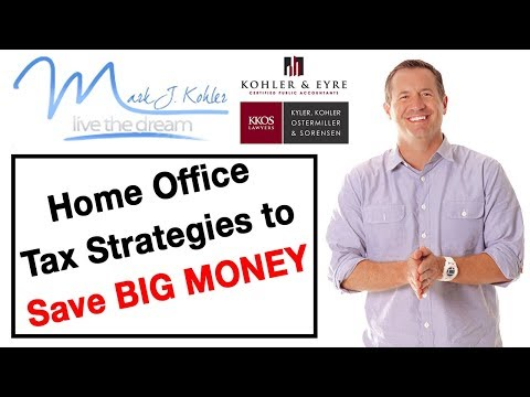 Home Office Tax Strategies to Save Big Money | Mark J Kohler | Tax & Legal Tip