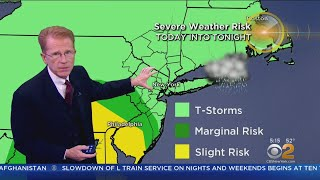 New York Weather: Friday Soaker
